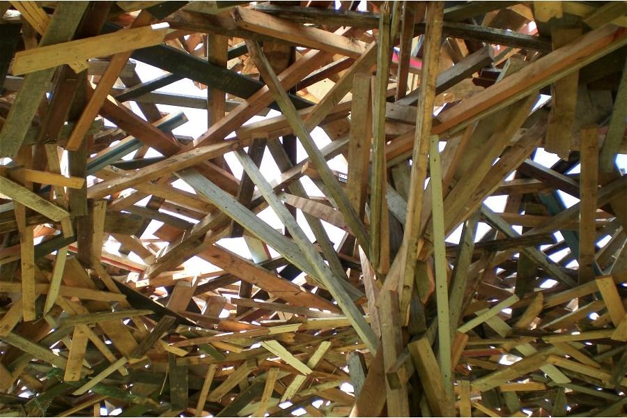 Pavilion Structure - detail