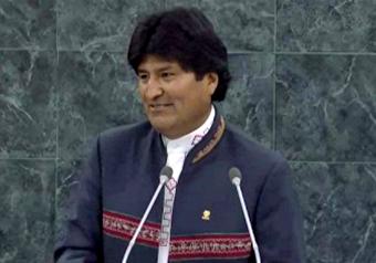 H. E. Mr. Evo Morales Ayma, Pres. Plurinational State of Bolivia by UN Web TV