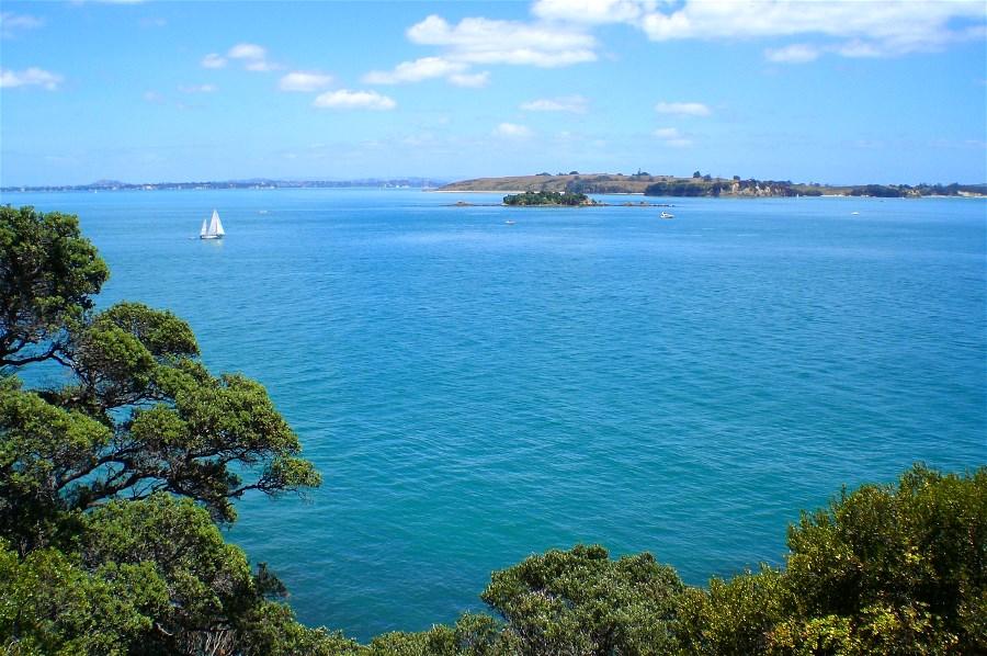 View across Hauraki Gulf