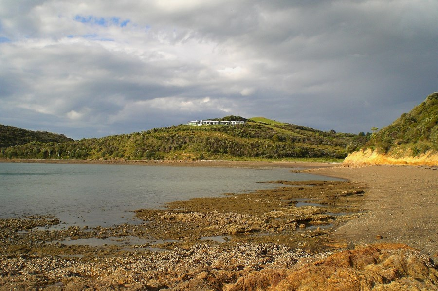 Owhanake Bay with Stormclouds