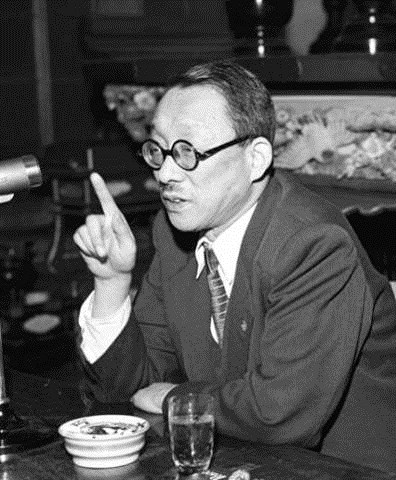 """The confusion of knowledge with wisdom is one of the great misfortunes of our times... Knowledge and wisdom are not the same thing. While knowledge may be a door that opens the path to wisdom, it is not, in itself, wisdom."" - Educator Josei Toda (1900-58), second president of the Soka Gakkai. (© Seikyo Newspaper )"