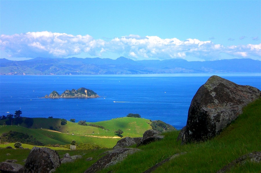 Stony Batter has stunning views across the east end of Waiheke Island.