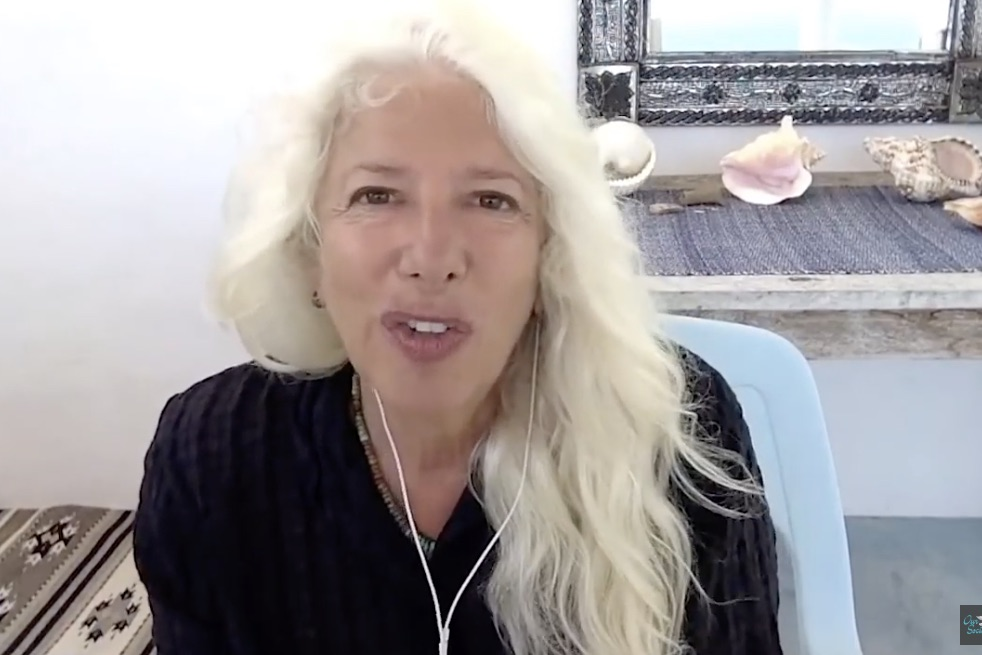 A screenshot of Rosa Koire speaking about Agenda 21.